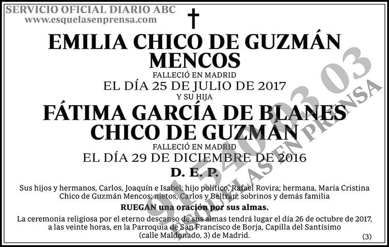 Emilia Chico de Guzmán Mencos